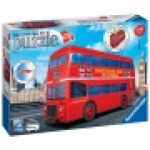 Ravensburger 3D puzzle (slagalice) - London bus RA12534
