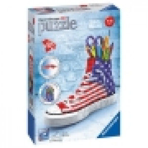 Ravensburger 3D puzzle (slagalice) - Patika za olovke sa Americkom zastavom RA12549