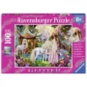 Ravensburger puzzle (slagalice) - Magična šuma puzle sa gliterom RA13617