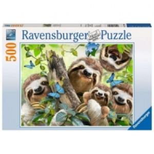 Ravensburger puzzle (slagalice) - Lenjivci RA14790