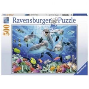 Ravensburger puzzle (slagalice) - Delfini RA14710