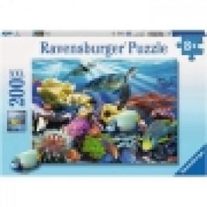 Ravensburger puzzle (slagalice) - Zivot kornjaca u okeanu RA12608
