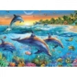 Ravensburger puzzle (slagalice) - Delfini RA14210