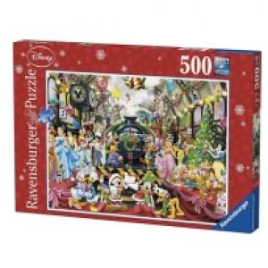 Ravensburger puzzle (slagalice) - Novogodisnja Disney zurka RA14739