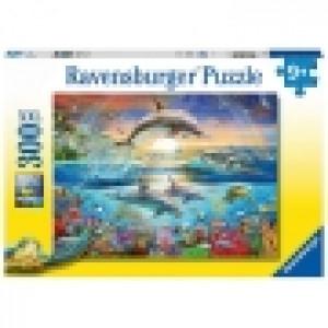 Ravensburger puzzle (slagalice) - Delfini RA12895