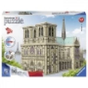 Ravensburger 3D puzzle (slagalice) -  Notre Dame RA12523