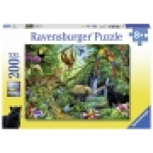 Ravensburger puzzle (slagalice) - Dzungla, zivotinje RA12660