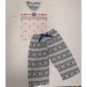 Pidžama ženska KAPRI PAHULJA 2XL*