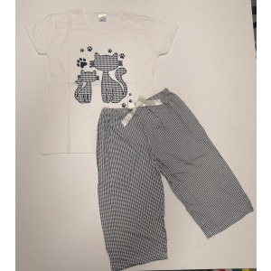 Pidžama ženska KAPRI MACA 2XL*