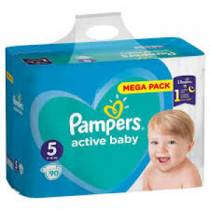 PAMPERS AB GBag Plus 5 JUNIOR (90)
