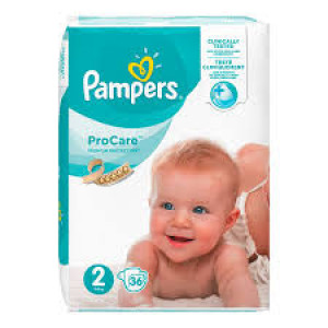 PAMPERS PRO CARE 2 MINI (36)