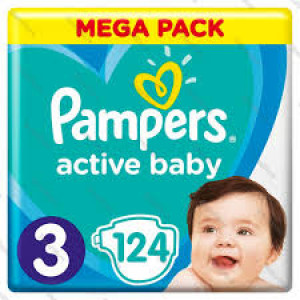 PAMPERS AB GBag Plus 3 MIDI (124)