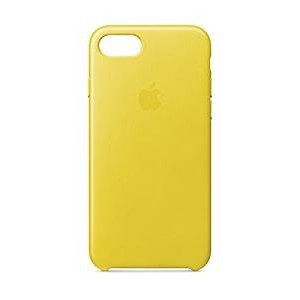 APPLE iPhone 8/7 Leather Case - Spring Yellow MRG72ZM/A