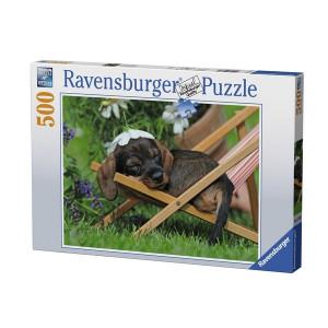 RAVENSBURGER puzzle (slagalice) - štene RA14738
