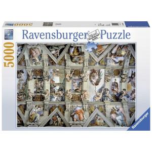 RAVENSBURGER puzzle - Siksinska kapela 5000 RA17429