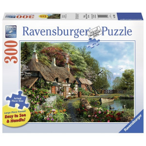 RAVENSBURGER puzzle (slagalice) - Kuca na jezeru RA13580