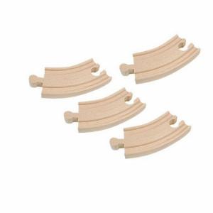 WOODY drvene šine za prugu krive kratke 90559