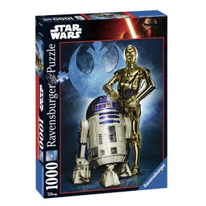 RAVENSBURGER Ravensburger puzzle (slagalice) -Star Wars,R2-D2 RA19682