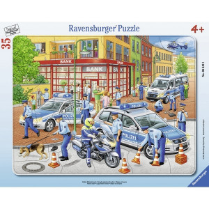 RAVENSBURGER puzzle - policijska akcija RA06642