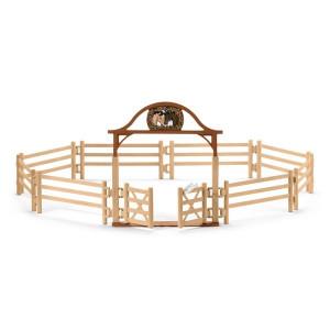 SCHLEICH ograda za konje sa kapijom 42434