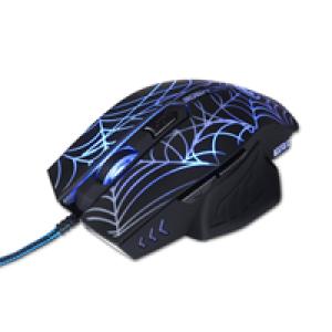 Miš USB Marvo M306 6D gejmerski sa 7 boja pozadinskog osvetljenja sa pulsirajućim efektom crni 003-0162
