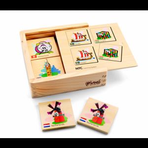 PINO NTC Igra memorije (8 parova) 4P004A