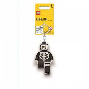 LEGO Classic privezak za ključeve sa svetlom: Skelet