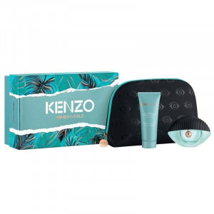 SET KENZO WORLD 50 ML EDP+ BL 75 ML + POUCH