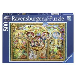 RAVENSBURGER Ravensburger puzzle (slagalice) - dizni porodica u zlatu RA14183