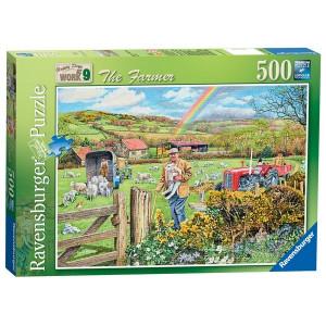 RAVENSBURGER Ravensburger puzzle (slagalice) - farmer RA14360