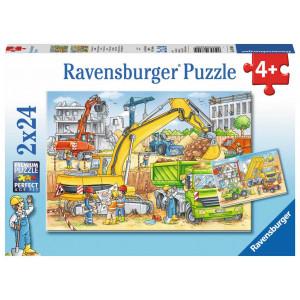 RAVENSBURGER puzzle (slagalice) - gradilište RA07800