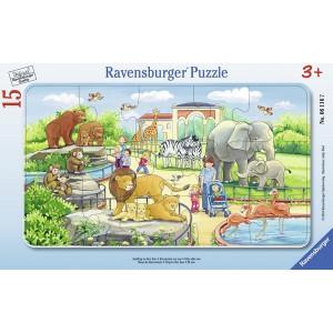 RAVENSBURGER puzzle - životinje u zoo vrtu RA06116