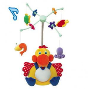 KS KIDS igračka Gladni pelikan, muzička igračka za krevetac KA10524