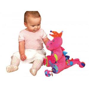 KS KIDS igračka Ružičasti Dino u akciji KA10579