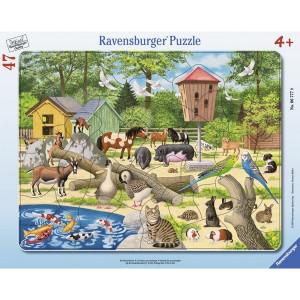 RAVENSBURGER puzzle  - u zoološkom vrtu RA06777