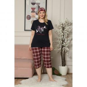 Pidžama ženska kapri 3100-23 XL***K