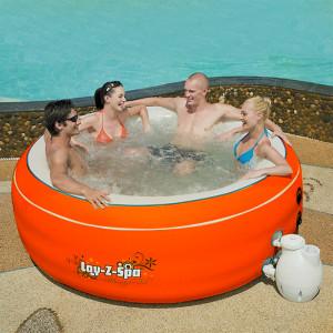 BESTWAY Pool masažni bazen bez grejača Lay-Z-Spa 206x71 cm HMC 007