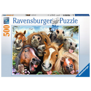 RAVENSBURGER puzzle (slagalice)- selfi konja RA14763