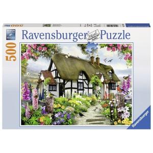 RAVENSBURGER puzzle (slagalice) - engleska kuća RA14709