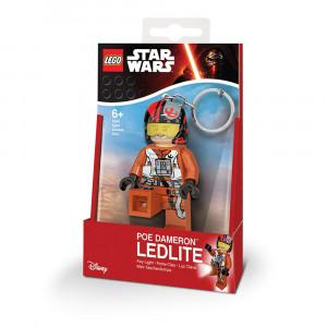 LEGO Star Wars privezak za ključeve sa svetlom: Po Dameron