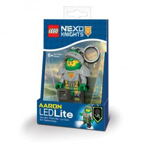 LEGO Nexo vitezovi privezak za ključeve sa svetlom: Aaron