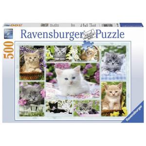 RAVENSBURGER Ravensburger puzzle (slagalice) - mačići u korpi RA14196