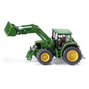 SIKU traktor john deere sa bagerom 3652