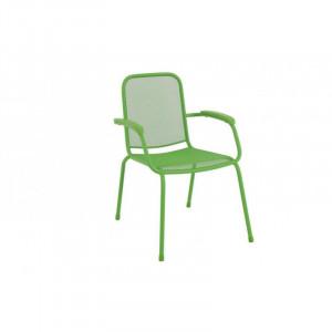 Baštenska metalna stolica Lopo - zelena 879422 LOPO 047114