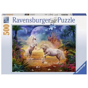 RAVENSBURGER puzzle (slagalice) - jednorozi u igri RA14743