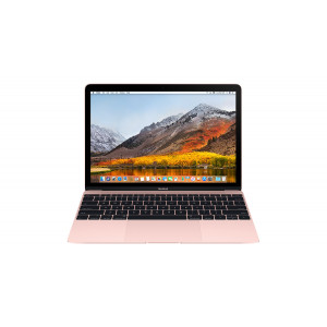 "APPLE laptop MacBook 12"" Retina/DC M3 1.2GHz/8GB/256GB/Intel HD Graphics 615/Rose Gold - CRO KB MNYM2CR/A"