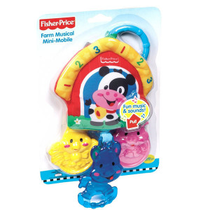FISHER PRICE mini mobile životinjska farma MAM4042