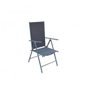 Matera podešavajuća stolica - crna 051118