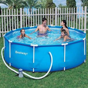 BESTWAY porodični bazen sa čeličnom konstrukcijom Maui 305 x 76 cm FFA 669