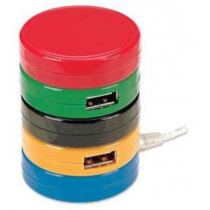 MANHATTAN MH USB Hub, Hi-Speed USB 2.0, 4-portni kolačići 161527